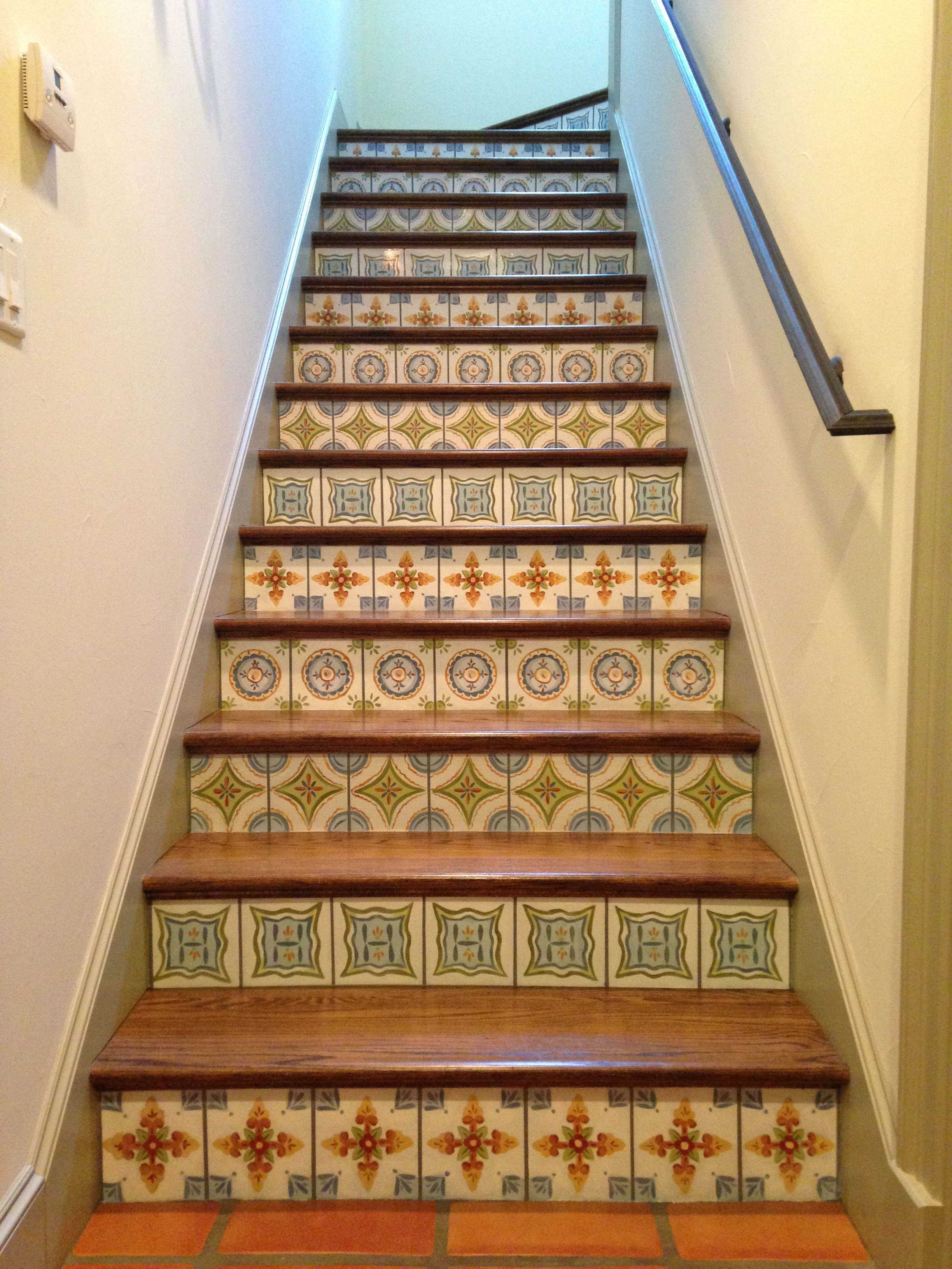residence-stairs-painted-to-look-like-tile